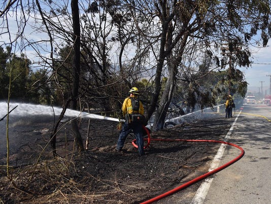 South Mountain Road Fire