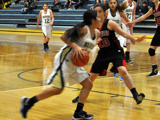 The Lady Warriors are set to meet Portales again Feb. 9 in an away game.