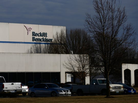 The Reckitt Benckiser plant in Springfield is located at 4455 E. Mustard Way.
