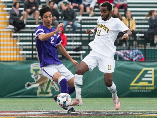 Albany vs. Vermont Men's Soccer 10/07/17