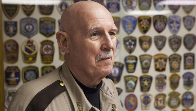 Randy Fisher, who has served as Augusta County sheriff for the past 17 years.
