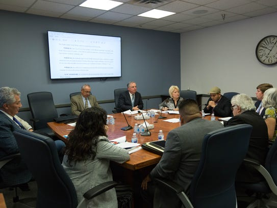 The South Central Solid Waste Authority Board meets