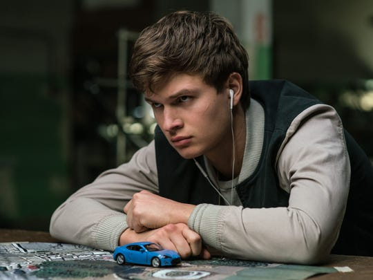 Ansel Elgort stars as a prodigal wheelman in 'Baby Driver.'