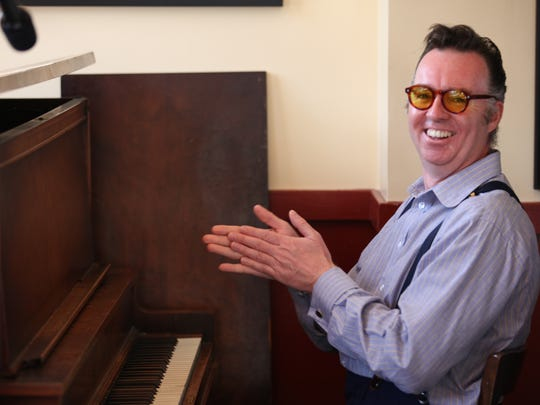 Carl Sonny Leyland will tickle the ivories at the Hong Kong Inn in Ventura Friday night.