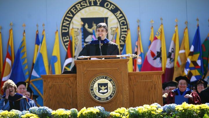 U-M grads upset commencement lacks major speaker