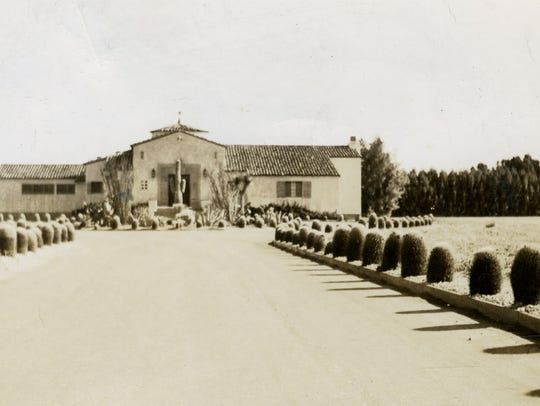 "The ""Dunes"" Club, Cathedral City circa 1932"