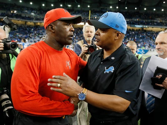 Jim Caldwell, Lovie Smith