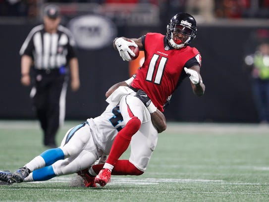 The Rams will have to contain Falcons superstar receiver