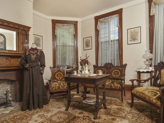 The historic home dates back to 1891 and offers a charming