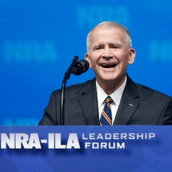 New NRA president Oliver North decries 'culture of violence' but worked on 'Call of Duty'