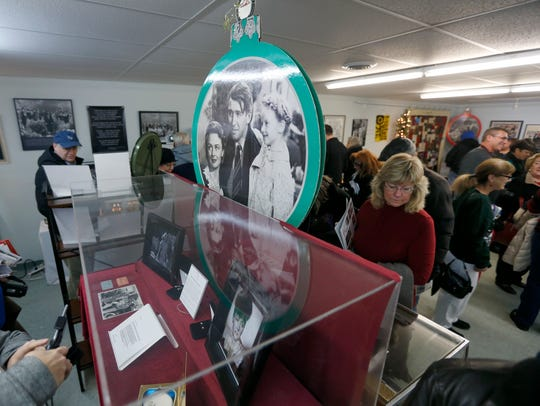 It's a Wonderful Life Museum in Seneca Falls.