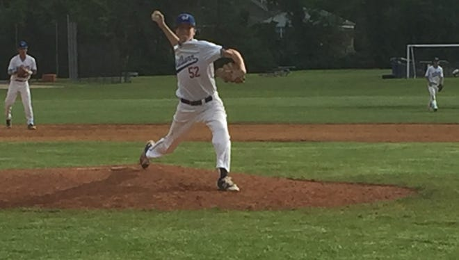 Millburn pitcher Connor Lally tosses a complete game shutout in the conference quarterfinals.