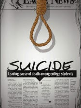 Suicide is the leading cause of death among students if you separate alcohol-related vehicle accidents from non-alcohol-related accidents.