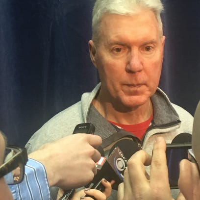 Packers general manager Ted Thompson takes questions