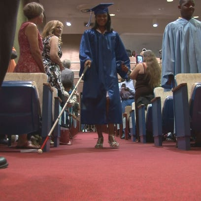 Graduating seniors from the Georgia Academy of the