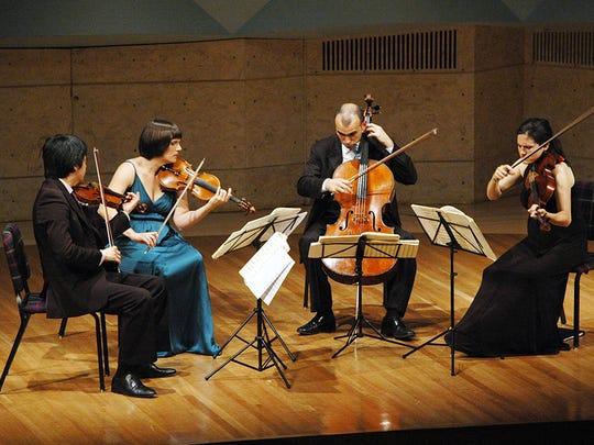 The Jupiter String Quartet visits Middlebury College on Wednesday.