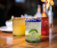 Get  deals on margaritas (like these from Cantina 76), beer and food at restaurants around Greenville on Cinco de Mayo.