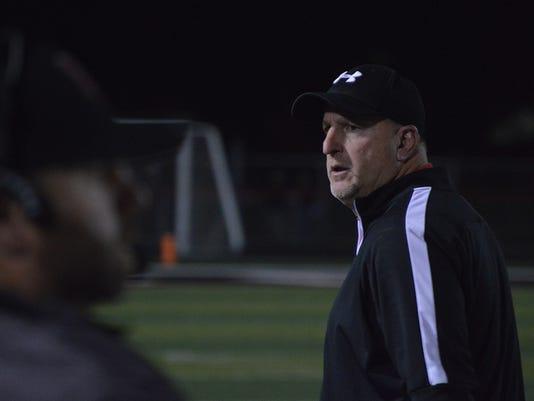 Harding football John Brady