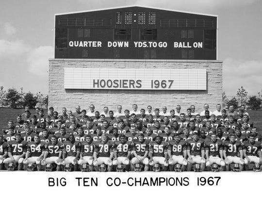 The 1967 Indiana Hoosiers football team.