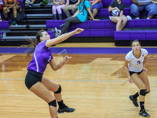 Trevecca Nazarene freshman Clare Taylor played for Trinity Christian Academy and was The Jackson Sun's 2013 Hitter of the Year and 2014 Player of the Year.