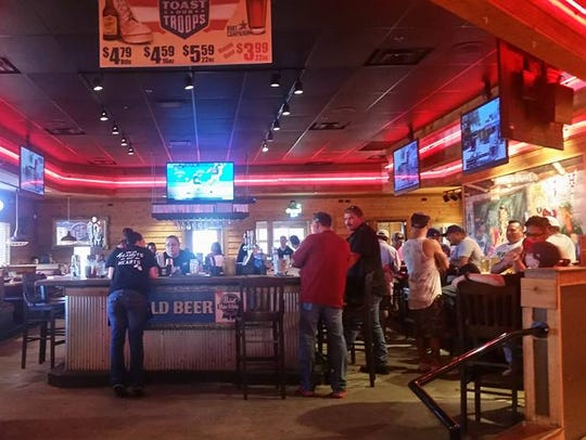 Hooters will be taking over the old Logan's Roadhouse, 4384 Sherwood Way, in 2019.