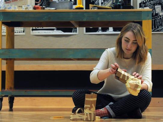 Brandon Valley High School Hannah Grapevine creates