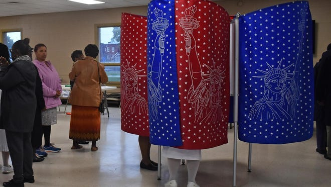 Voters in Wednesday's village elections can expect to see workers taking extra cleaning precautions to combat the threat of coronavirus.