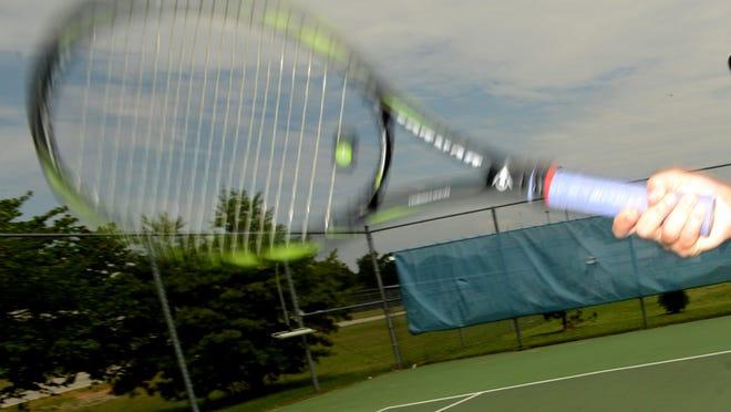 All-West Tennessee Female Tennis Player USJ's Tori Hockaday. MEGAN SMITH/The Jackson Sun