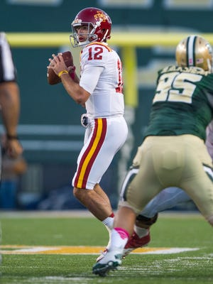 Sam Richardson (12) and the Cyclones face the Baylor Bears for the first time since their 71-7 loss in Waco.