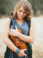 """Taylor Davis, known as """"ViolinTay"""" on YouTube, released a self-titled CD of original music that debuted at No. 10 on the Billboard classical chart. She will bring her music to the Mesa Arts Center Oct. 18."""