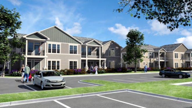 Springs at New Berlin would create over 200 apartments at Moorland Road and Greenfield Ave.