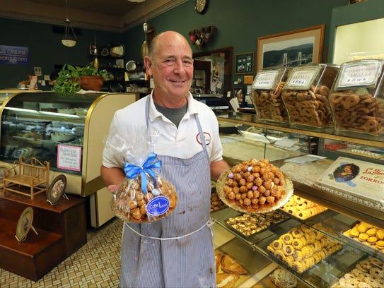 Lou Strippoli, the owner of Caffe Aurora in Poughkeepsie,