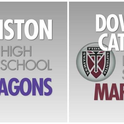 Johnston vs. Dowling Catholic football.