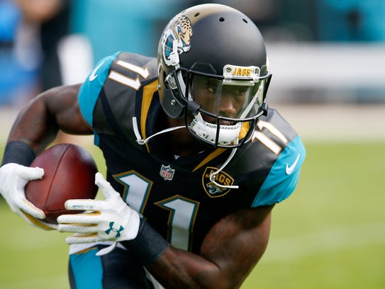 Marqise Lee led the Jaguars with 56 pass receptions