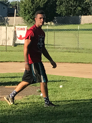 Brendan Dudas, founder of the ISWB Wiffle Ball league