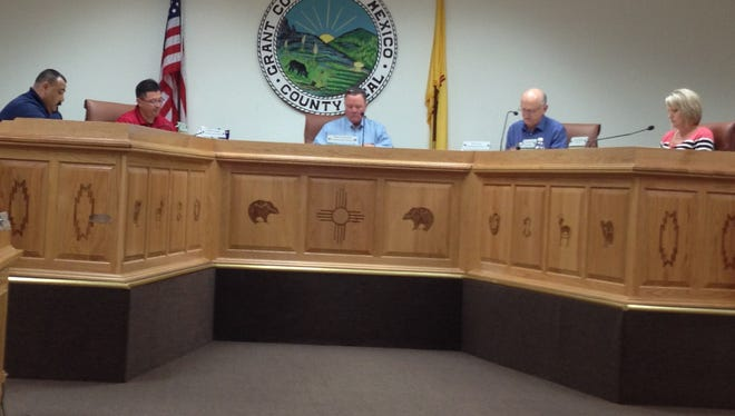 The Grant County Board of County Commissioners held a work session Tuesday morning in Silver City to review the agenda for Thursday's regular monthly meeting.