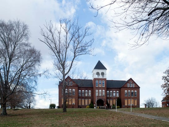Knoxville College's McKee Hall was once the centerpiece of the historically black college.