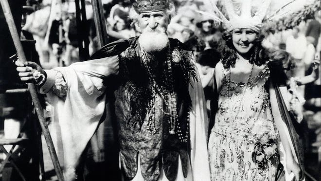 Inventor, scientist, author and explosives expert Hudson Maxim played King Neptune and crowned the first two Miss Americas in Atlantic City.