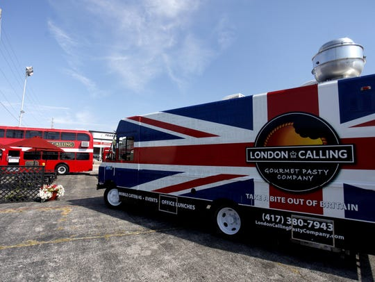 London Calling food truck, soon after it opened at