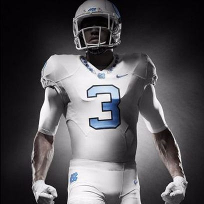 UNC and Nike unveil new athletic uniforms