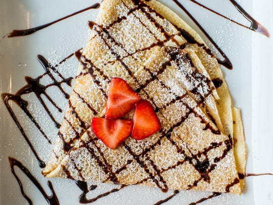 The Nutella Crepe is pictured at La Creperie Bistro.
