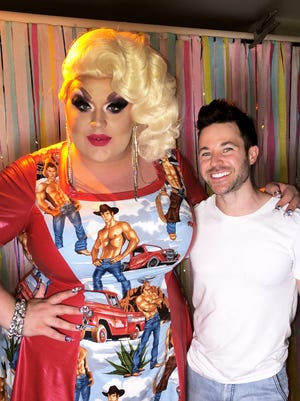 """RuPaul's Drag Race"" star Eureka and country singer Brandon Stansell, both East Tennessee natives, will team up for a music video."