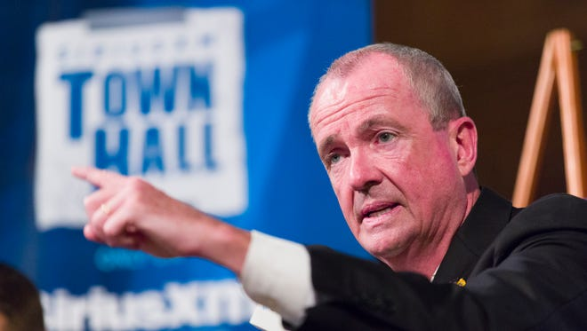 Democratic gubernatorial candidate Phil Murphy conducts a town hall meeting last weekend in Montclair.