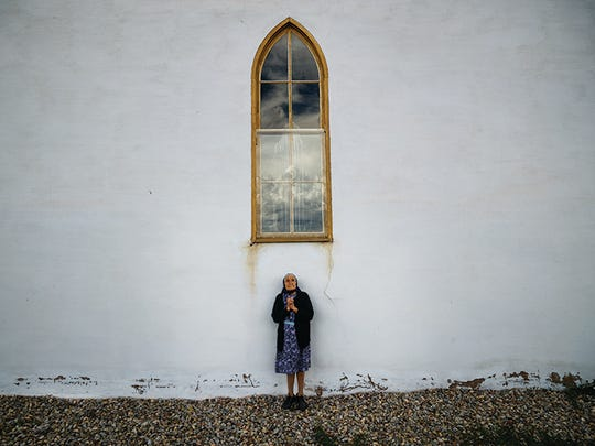 "New Mexico Magazine Photo Contest Winner  First Place People Category Robert B. MacDougall ""Maria and Saint Theresa."""