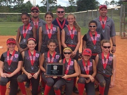 Greater Fort Myers 9-11 softball all-stars.