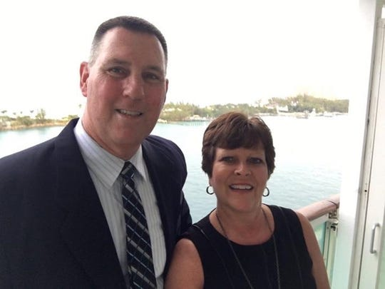 Pat and Becki King, South Bend, were in the Fort Lauderdale airport Friday when a gunman opened fire. They were not in the same terminal but were told to run by TSA agents.