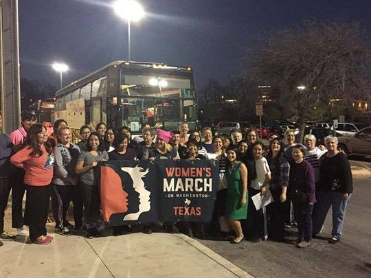 Corpus Christi resident Victoria Rogers is traveling by bus to Washington D.C. on Jan. 20, 2017 to the Women's March on Washington.