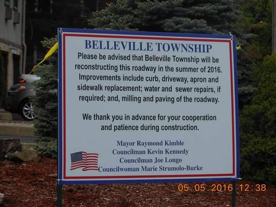 This sign on Brighton Avenue in Belleville appeared just prior to the 2016 municipal election for the Township Council.