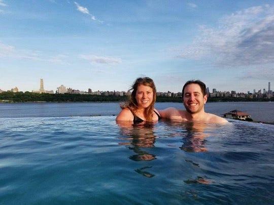 Lauren and Noah Herskovitz SoJo Spa Club