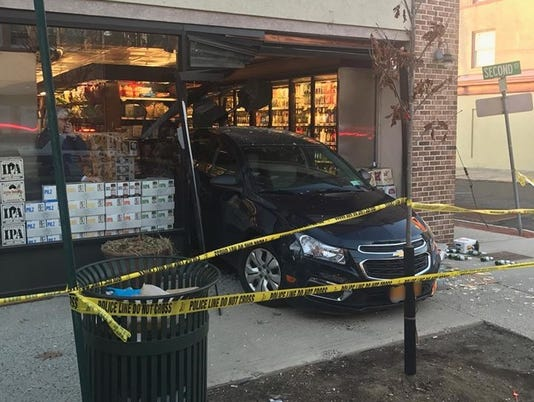 Car crashes into Pelham DeCicco's
